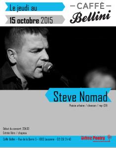 Steve Nomad_15.10.15_ Café Bellini